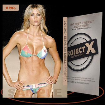 Elena Santarelli [ # 2221-UNC ] PROJECT X Numbered cards / Limited Edition