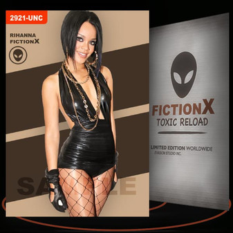 Rihanna [ # 2921-UNC ] FICTION X TOXIC RELOAD / Limited Edition cards