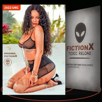 Rihanna [ # 2922-UNC ] FICTION X TOXIC RELOAD / Limited Edition cards