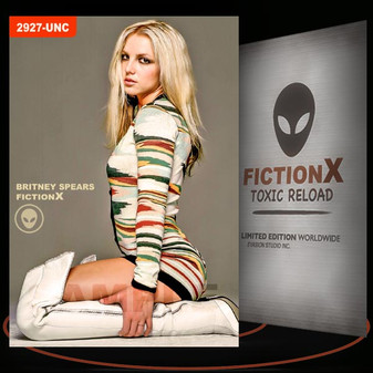 Britney Spears [ # 2927-UNC ] FICTION X TOXIC RELOAD / Limited Edition cards
