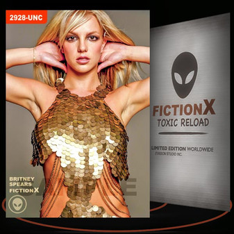 Britney Spears [ # 2928-UNC ] FICTION X TOXIC RELOAD / Limited Edition cards