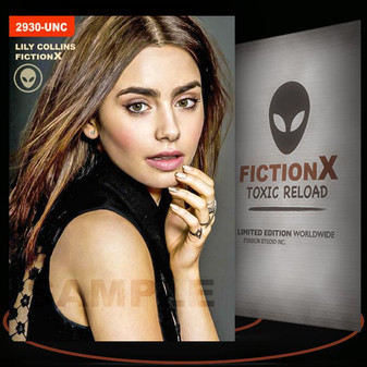 Lily Collins [ # 2930-UNC ] FICTION X TOXIC RELOAD / Limited Edition cards