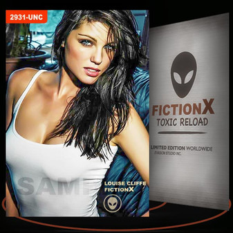 Louise Cliffe [ # 2931-UNC ] FICTION X TOXIC RELOAD / Limited Edition cards