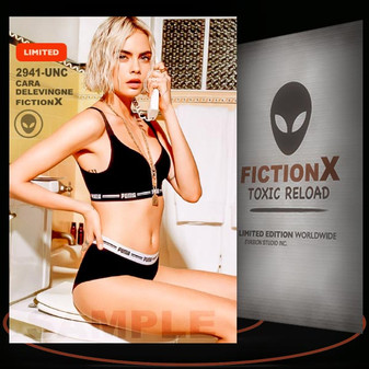 Cara Delevingne [ # 2941-UNC ] FICTION X TOXIC RELOAD / Limited Edition cards