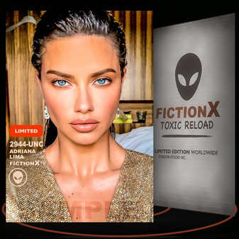 Adriana Lima [ # 2944-UNC ] FICTION X TOXIC RELOAD / Limited Edition cards
