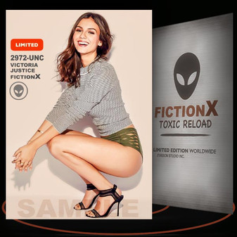 Victoria Justice [ # 2972-UNC ] FICTION X TOXIC RELOAD / Limited Edition cards