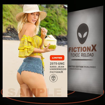 Sara Jean Underwood [ # 2975-UNC ] FICTION X TOXIC RELOAD / Limited Edition cards