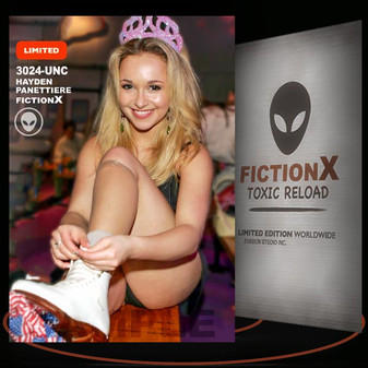 Hayden Panettiere [ # 3024-UNC ] FICTION X TOXIC RELOAD / Limited Edition cards