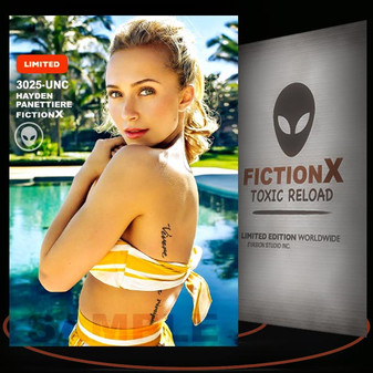 Hayden Panettiere [ # 3025-UNC ] FICTION X TOXIC RELOAD / Limited Edition cards