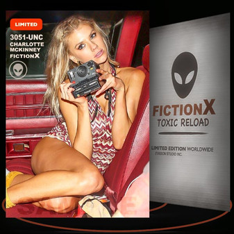 Charlotte McKinney [ # 3051-UNC ] FICTION X TOXIC RELOAD / Limited Edition cards