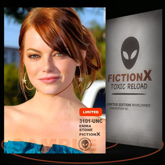Emma Stone [ # 3101-UNC ] FICTION X TOXIC RELOAD / Limited Edition cards