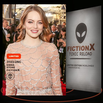 Emma Stone [ # 3103-UNC ] FICTION X TOXIC RELOAD / Limited Edition cards