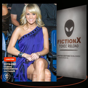 Carrie Underwood [ # 3119-UNC ] FICTION X TOXIC RELOAD / Limited Edition cards