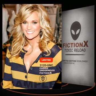 Carrie Underwood [ # 3120-UNC ] FICTION X TOXIC RELOAD / Limited Edition cards