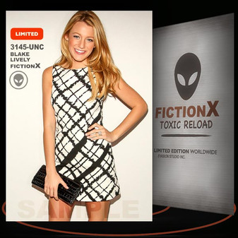 Blake Lively [ # 3145-UNC ] FICTION X TOXIC RELOAD / Limited Edition cards