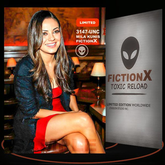 Mila Kunis [ # 3147-UNC ] FICTION X TOXIC RELOAD / Limited Edition cards