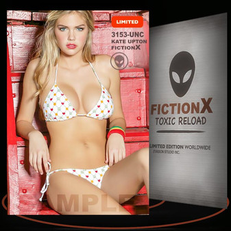 Kate Upton [ # 3153-UNC ] FICTION X TOXIC RELOAD / Limited Edition cards