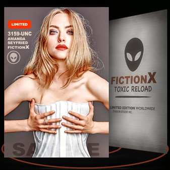 Amanda Seyfried [ # 3159-UNC ] FICTION X TOXIC RELOAD / Limited Edition cards