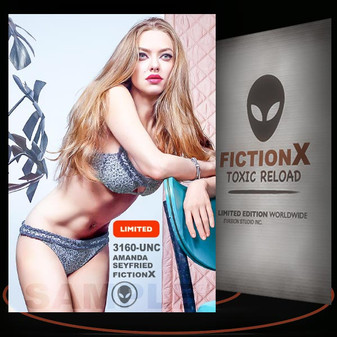 Amanda Seyfried [ # 3160-UNC ] FICTION X TOXIC RELOAD / Limited Edition cards