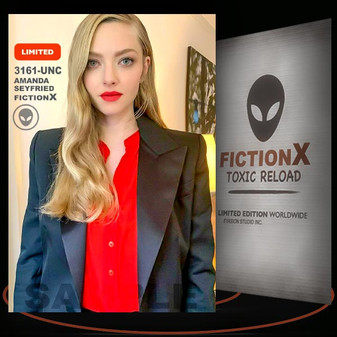 Amanda Seyfried [ # 3161-UNC ] FICTION X TOXIC RELOAD / Limited Edition cards
