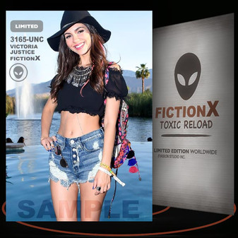 Victoria Justice [ # 3165-UNC ] FICTION X TOXIC RELOAD / Limited Edition cards