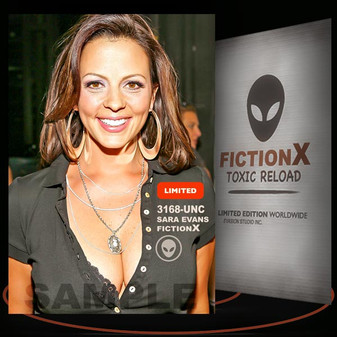 Sara Evans [ # 3168-UNC ] FICTION X TOXIC RELOAD / Limited Edition cards