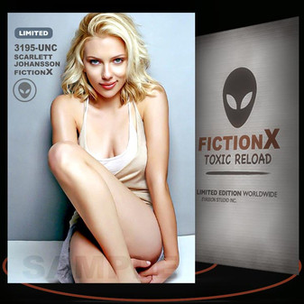 Scarlett Johansson [ # 3195-UNC ] FICTION X TOXIC RELOAD / Limited Edition cards