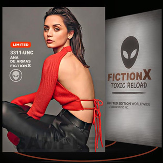 Ana De Armas [ # 3311-UNC ] FICTION X TOXIC RELOAD / Limited Edition cards