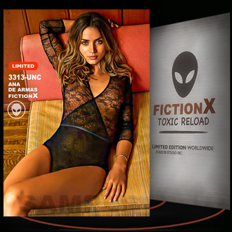 Ana De Armas [ # 3313-UNC ] FICTION X TOXIC RELOAD / Limited Edition cards