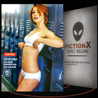 Alyson Hannigan [ # 3318-UNC ] FICTION X TOXIC RELOAD / Limited Edition cards
