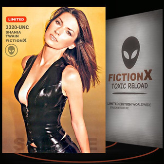 Shania Twain [ # 3320-UNC ] FICTION X TOXIC RELOAD / Limited Edition cards