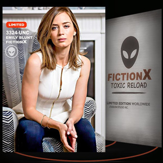 Emily Blunt [ # 3324-UNC ] FICTION X TOXIC RELOAD / Limited Edition cards