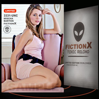 Mischa Barton [ # 3331-UNC ] FICTION X TOXIC RELOAD / Limited Edition cards