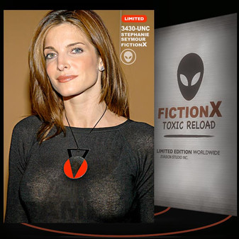 Stephanie Seymour [ # 3430-UNC ] FICTION X TOXIC RELOAD / Limited Edition cards