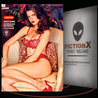 Stephanie Seymour [ # 3431-UNC ] FICTION X TOXIC RELOAD / Limited Edition cards