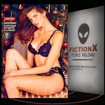 Stephanie Seymour [ # 3432-UNC ] FICTION X TOXIC RELOAD / Limited Edition cards