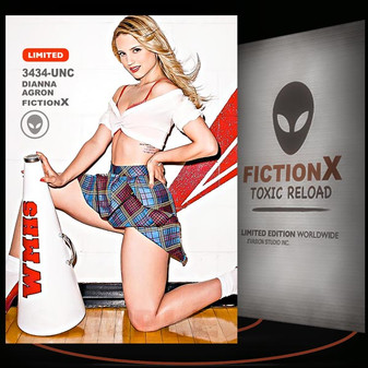 Dianna Agron [ # 3434-UNC ] FICTION X TOXIC RELOAD / Limited Edition cards