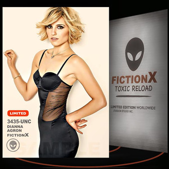 Dianna Agron [ # 3435-UNC ] FICTION X TOXIC RELOAD / Limited Edition cards