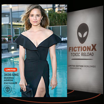 Dianna Agron [ # 3436-UNC ] FICTION X TOXIC RELOAD / Limited Edition cards