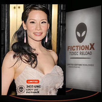 Lucy Liu [ # 3437-UNC ] FICTION X TOXIC RELOAD / Limited Edition cards