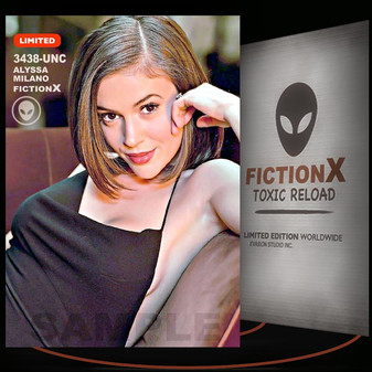 Alyssa Milano [ # 3438-UNC ] FICTION X TOXIC RELOAD / Limited Edition cards
