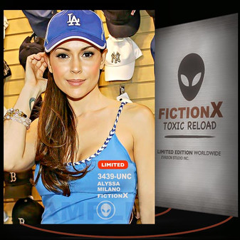 Alyssa Milano [ # 3439-UNC ] FICTION X TOXIC RELOAD / Limited Edition cards