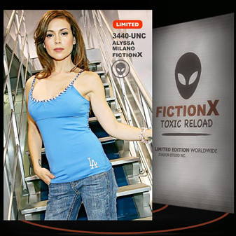 Alyssa Milano [ # 3440-UNC ] FICTION X TOXIC RELOAD / Limited Edition cards
