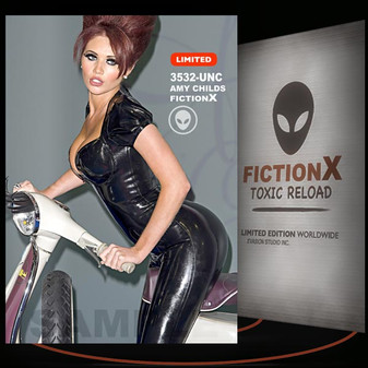 Amy Childs [ # 3532-UNC ] FICTION X TOXIC RELOAD / Limited Edition cards