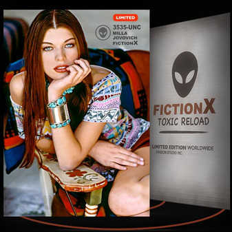 Milla Jovovich [ # 3535-UNC ] FICTION X TOXIC RELOAD / Limited Edition cards