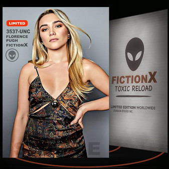 Florence Pugh [ # 3537-UNC ] FICTION X TOXIC RELOAD / Limited Edition cards