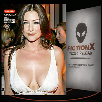 Lisa Snowdon [ # 3637-UNC ] FICTION X TOXIC RELOAD / Limited Edition cards