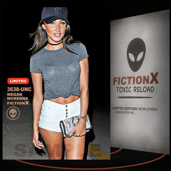 Megan McKenna [ # 3638-UNC ] FICTION X TOXIC RELOAD / Limited Edition cards