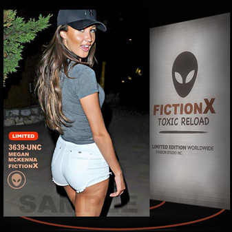 Megan McKenna [ # 3639-UNC ] FICTION X TOXIC RELOAD / Limited Edition cards