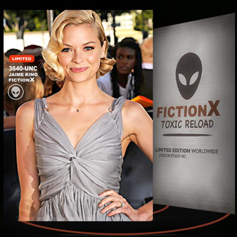 Jaime King [ # 3640-UNC ] FICTION X TOXIC RELOAD / Limited Edition cards